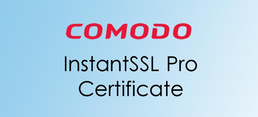 compare Comodo InstantSSL Pro