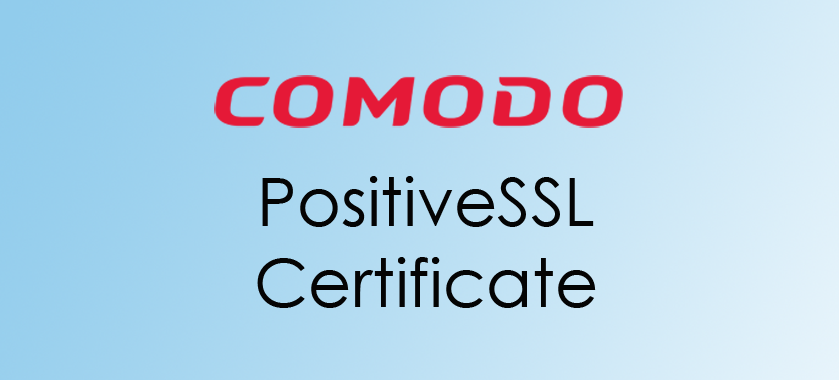 compare Comodo PositiveSSL Certificate