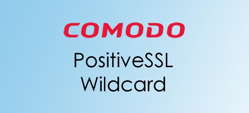 compare Comodo PositiveSSL Wildcard Certificat
