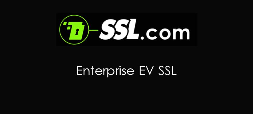 Enterprise EV SSL