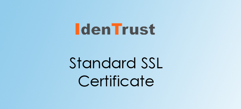 IdenTrust Standard SSL