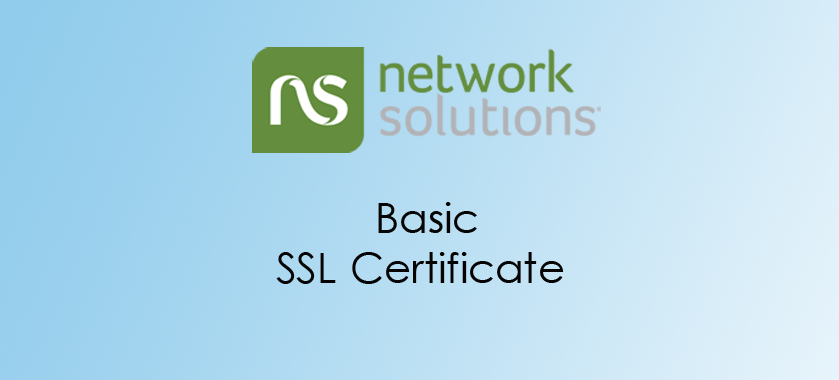 Network Solutions Basic SSL