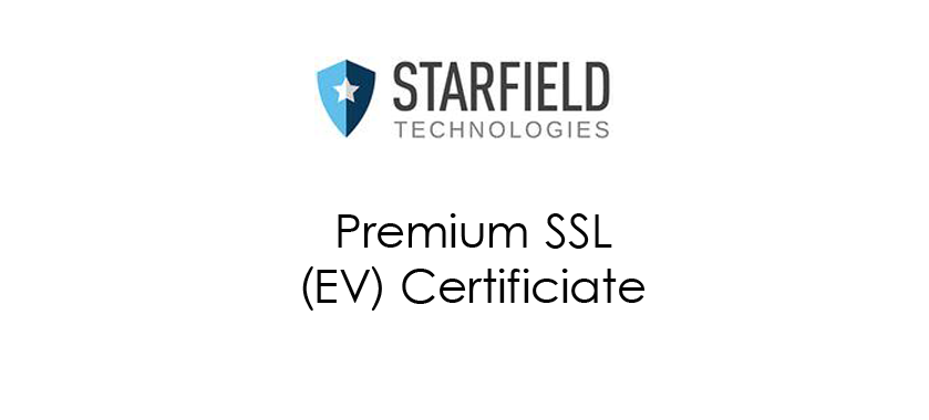 Starfieldtech Premium SSL (EV)
