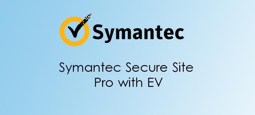 Symantec Secure Site Pro with EV