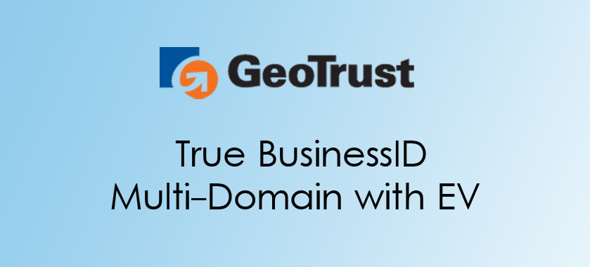 True BusinessID Multi-Domain with EV