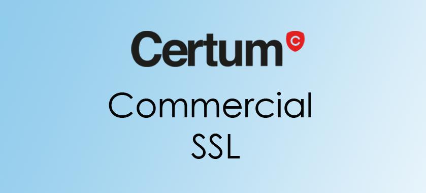 compare certum commercial ssl