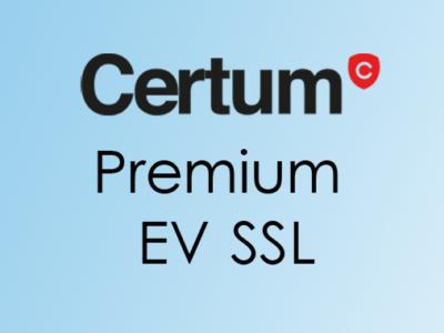 compare CERTUM Premium EV SSL