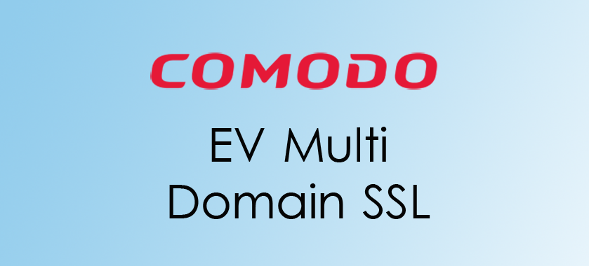 compare comodo ev multi domain