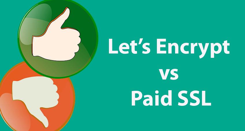 Let's Encrypt vs Paid SSL