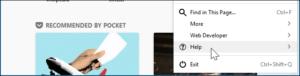 Refresh firefox browser - 2