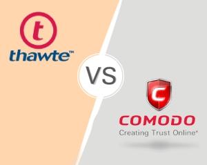 Comodo SSL vs Thawte SSL
