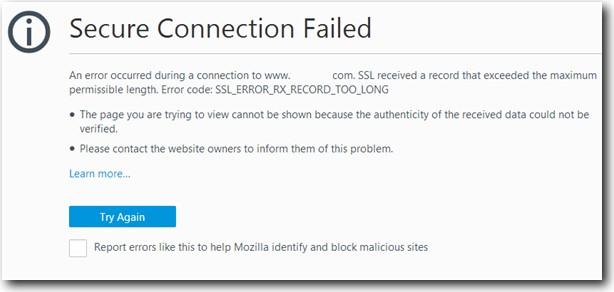 ssl_error_rx_record_too_long error
