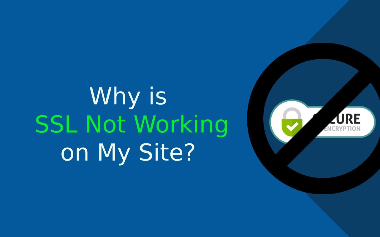 SSL not working