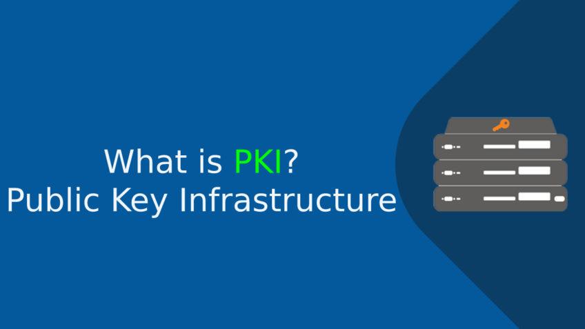 What is PKI Public Key Infrastructure (PKI) Explained