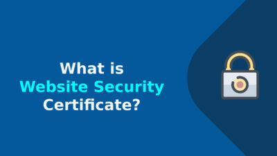 What is Website Security Certificate