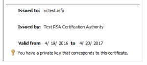 ssl disappear from iis