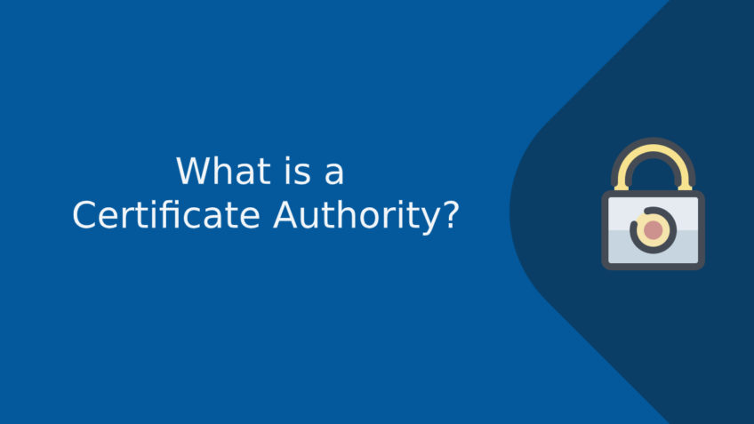 what is certificate authority