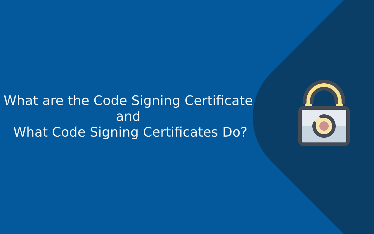what is code signing