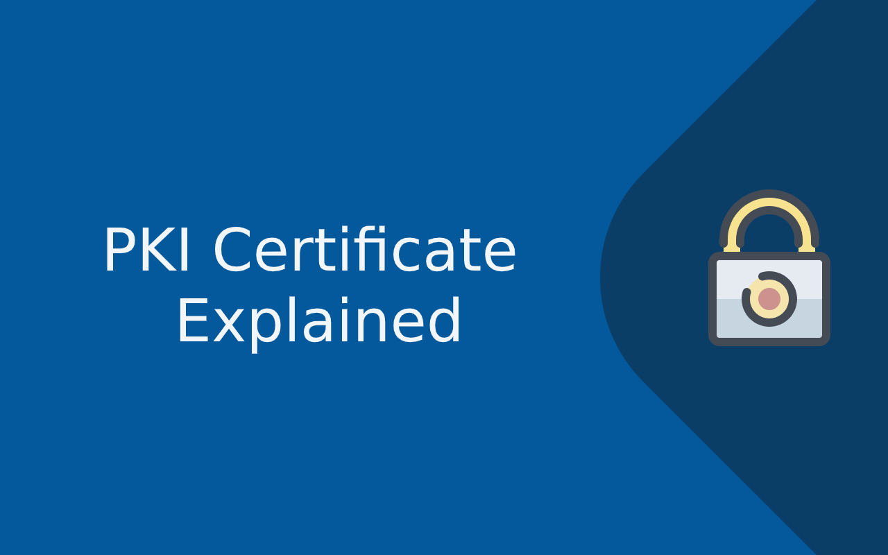 what is a pki certificate