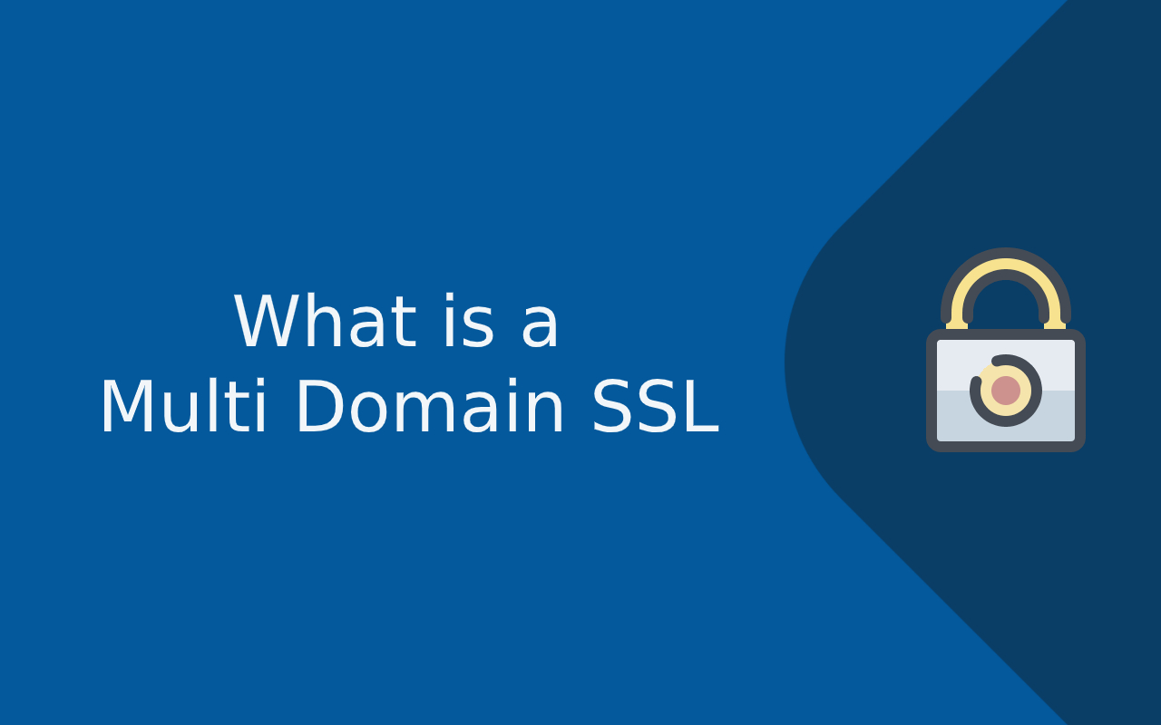 what is multi domain ssl
