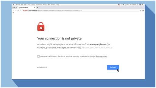 Microsoft edge error