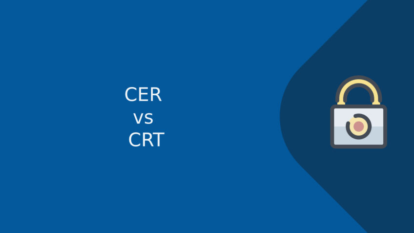 CER and CRT