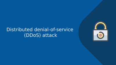 distributed denial-of-service (DDoS) attack